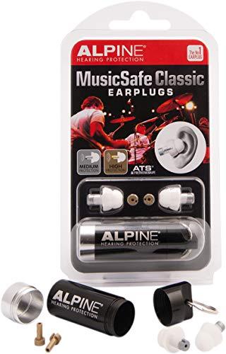 ssische Ohrstöpsel- Werte dein Musikerlebnis auf ohne Hörschäden zu riskieren - Drei austauschbare Filtersets - Bequemes hypoallergenes Material - Wiederverwendbare Ohrstöpsel ()