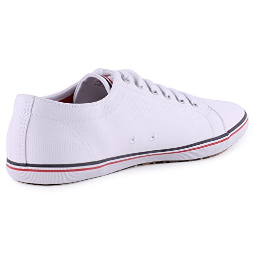 Fred Perry Kingston Twill, Fred Perry Womens Kingston Twill White 36 femme Noir, blanc et rouge