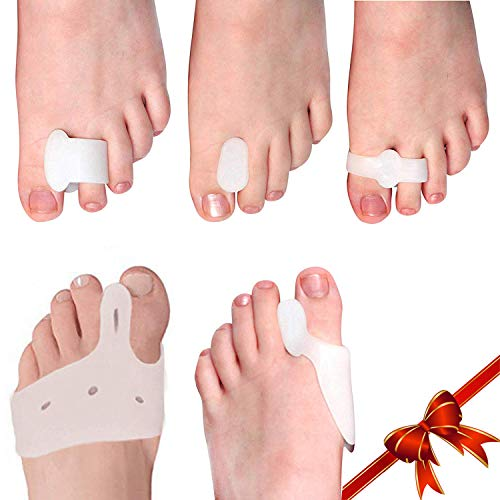 10 Piece 5 Pair Dedo Splint Separator Relief Bunions
