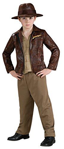 Deluxe Indiana Jones Kostüm für (Jones Deluxe Kinder Kostüme Indiana)