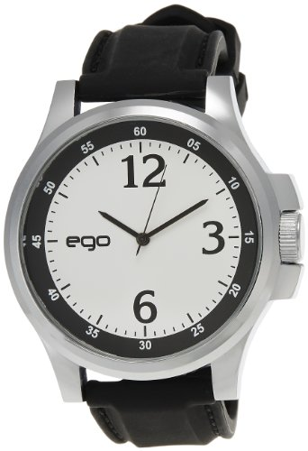 Ego by Maxima Analog White Dial Men's Watch – E-01028PAGC image - Kerala Online Shopping