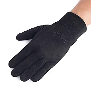 Unbekannt XIAOYAN Handschuhe Herren-Handschuhe Winter-Verdickung Warm halten Handschuhe Soft Full Finger Bequem