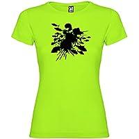 Kruskis 11502280LK013 Camiseta de Pesca, Mujer, Pistacho, L