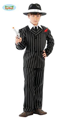 Guirca Gangster Mafia Anzug für Jungen Gr. 110-146, ()