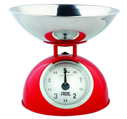 Weighs dry ingredients in grams;Manual zero position;1-1/2-Quart stainless bowl;Easy to read face;8-1/2-Inch tall