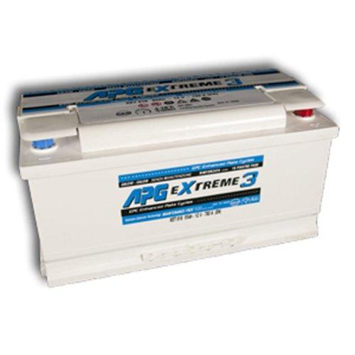 APG XET618 Extreme 3 - Batteria auto, 95Ah