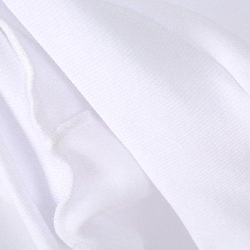 Damen Hoodie Sweatshirt,Sannysis Frauen Pullover mit Kapuze Tops Bluse (L, Weiß) -