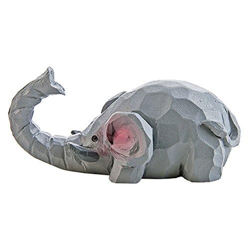 Percha de resina decorativa de pared con forma de animal 3D para...