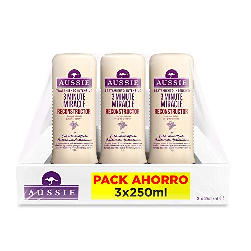 Aussie 3 Minute Miracle Reconstructor Intensivo Mascarilla