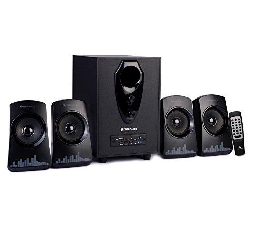 Zebronics ZEB-Feel 4.1 Multimedia Speakers (Black)