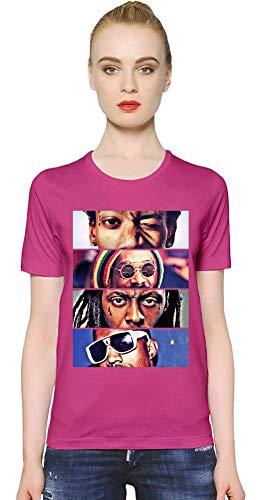 Lil Wayne Beste Rapper - Best Rappers Women T-Shirt Girl Ladies Stylish Fashion Fit Custom Apparel by X-Large - Rosa Lil Shirt Wayne