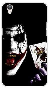 Crazy Beta JOKER Printed Back Cover For Oppo F1 Plus