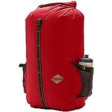 Aqua Quest SPORT 30L Mochila Estanca Impermeable Roja- Cierre Enrollable para Proteger tu Portátil durante Viajes, Camping y Senderismo