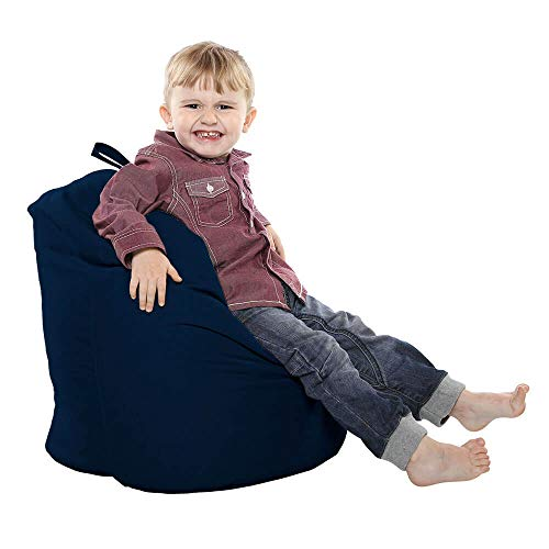 rucomfy Bean Bags bequem kleinen Griff Bean Bag - Navy - Navy Bean Bag