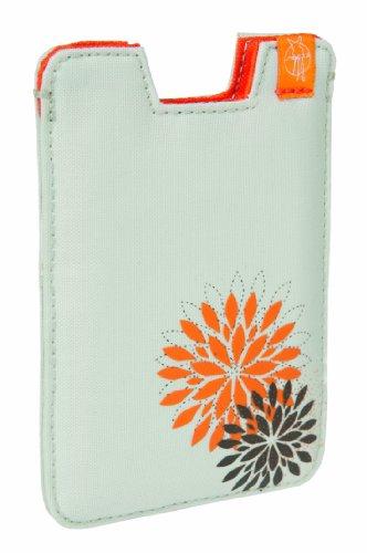 Lässig Smartphonehülle, Twig Slate Flower Grey