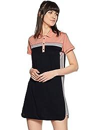 Just F by Jacqueline Fernandez Women's Shift Mini Dress