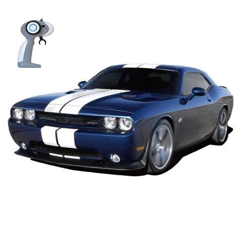 Dodge Challenger SRT8 - RC ferngesteuertes Lizenz-Fahrzeug im Original-Design, Modell-Maßstab 1:16, Ready-to-Drive, Auto inkl. Fernsteuerung, Neu