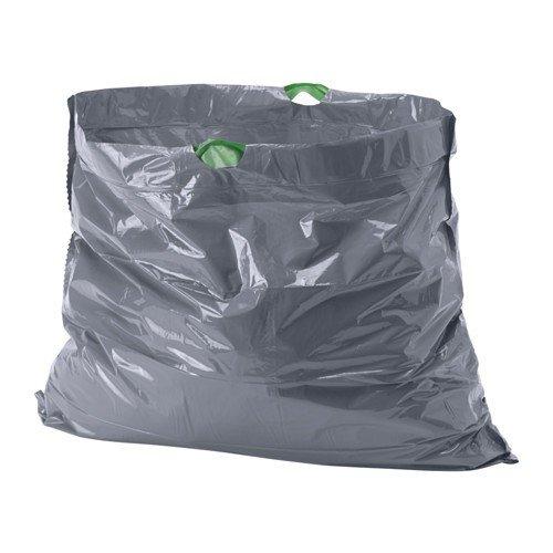 Ikea förslutas bolsas de basura en gris; (21L); 20unidades)