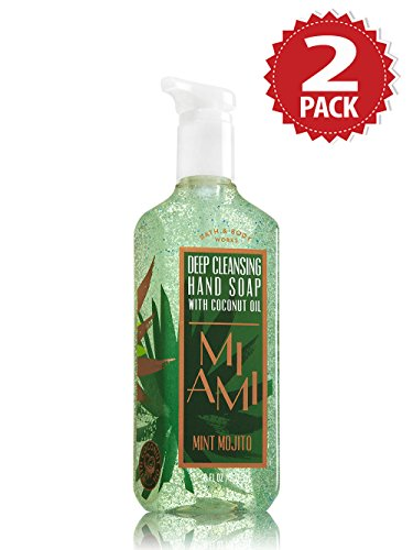 savon-antibacterien-bath-body-works-pack-de-2-miami-mint-mojito-2x236ml