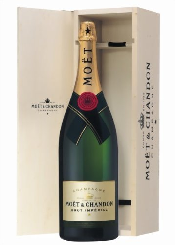 Moet & Chandon Brut Imperial Salmanazar in Holzkiste 12% Vol. 9 l