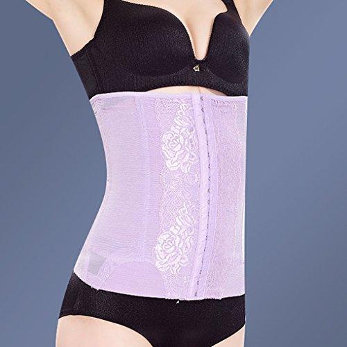 Masterein Women Postpartum Body Shaper Waist Slimming Belt Underbust Corset Bustiers