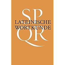 Grammatiken III/Raab-Keßler, Lateinische Wortkunde