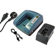 Power Smart® 7.2–18V Cargador para Bosch PSR 14.4VES-2, PSR 14.4–2, PSR 14.4/N, PSR 14.4VE, PSR 1440, PSR 18, PSR 18VE-2, PSR 7.2VES-2, PSR 9.6VE, PSR 9.6VE-2, PSR 9.6VES, PSR 9.6VES-2, PSR 960, PSR1440, PSR1440/B, PST 14.4V, SAW 24V