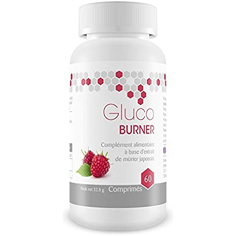 Glucoburner 30 días- Quemagrasas indicado para reducir la absorción de grasa, ayuda a adelgazar