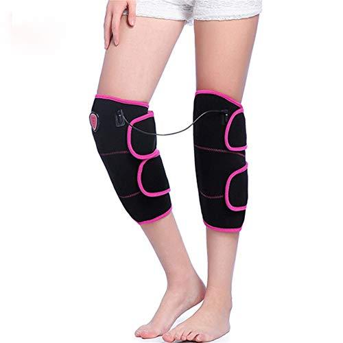 Supporto per ginocchio avvolgente riscaldato al gi ginocchio elettrico heat bretelle 3 temperatura regolabile vibrazioni riscaldata ginocchio fasce for le ginocchia fisioterapia for il sollievo dal do
