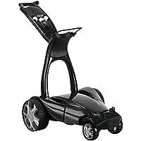 Stewart Golf X9 Follow - Carro de golf eléctrico, color Negro (Met Black), talla n/a