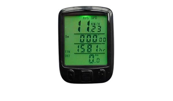 Entfernungsmesser Mit Rad : Ly rad fahrrad computer wasserdicht entfernungsmesser set