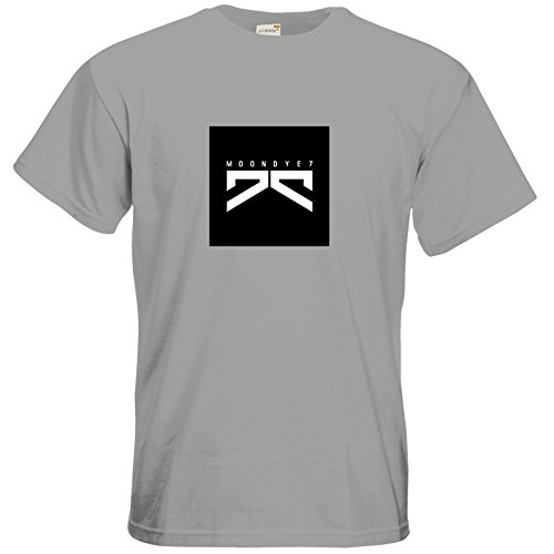 getshirts - Moondye7 official Merchandise - T-Shirt - Logo 1 pacific grey