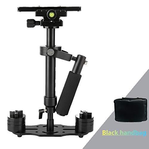 Handheld Kamera Stabilisator Dazzne 40cm / 15.7' Handstabilisator Steadicam mit Schnellwechselplatte 1/4' 3/8' Schraube für Canon Nikon...