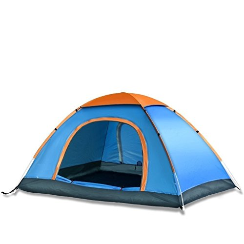 YFXOHAR Most Picnic Hiking Camping Portable Dome Tent for 4 Person Waterproof with Bag
