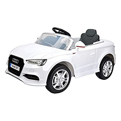Audi A3 Licensed Kids Ride On Car 12v Twin Motor Battery Remote Control Cars - The Perfect Gift For Your Children.