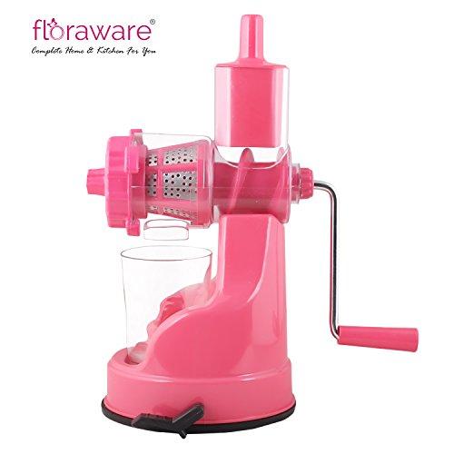 Floraware Plastic Hand Juicer, Pink (IPL-Pink)