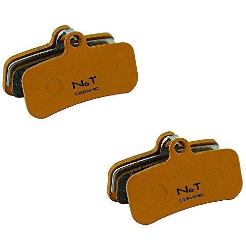Preisvergleich Produktbild 2 x Noah and Theo nt-bp018 / CR Keramik SCHEIBENBREMSEN BREMSBELÄGE Passform Shimano ZEE BR-M640,  Heiligen BR-M810 und br-m820. auch kompatibel mit Polster Modelle H01A,  H03C,  D01S and D02S