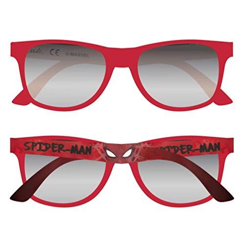 Spiderman Marvel 2500000868 Sonnenbrille, Kinder, Rot