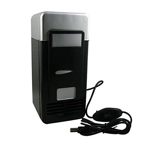 Itian USB-Mini-Kühlschrank für Coca Cola Beverages (Black)