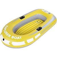 VGEBY1 Schlauchboot, PVC Aufblasbares Kajak Kanu 2 Personen Ruderluft Boots Fischen treibendes Tauchen