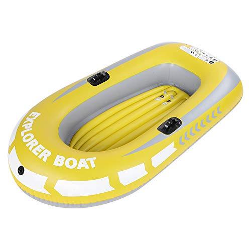 Kajak aufblasbar, PVC-Aufblasbares Kajak Kanu 2 Personen Aufblasbares Kajak Ruderluft Boots Fischen Kayak treibendes Tauchen