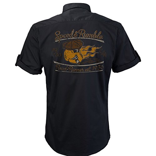 work-shirt-rocknroll-parrot-v8-us-car-speed-and-rumble