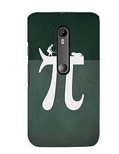 Citydreamz Pie/Maths/Study/Abstract Hard Polycarbonate Designer Back Case Cover For Motorola Moto X Play (Moto XP)