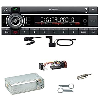 Kienzle-CR-1225-DAB-Digitalradio-Bluetooth-Autoradio-CD-USB-AUX-MP3-DAB-Einbauset-fr-Mercedes-E-Klasse-W124
