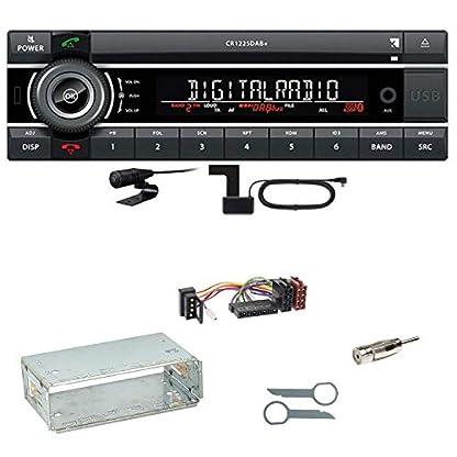 Kienzle-CR-1225-DAB-Digitalradio-Bluetooth-Autoradio-CD-USB-AUX-MP3-DAB-Einbauset-fr-Mercedes-E-Klasse-W124