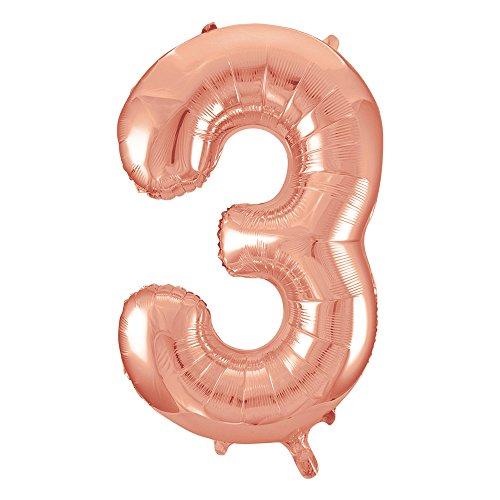 Über 30 Designs (Folienballon im Zahlen-Design, groß, 86,4cm)