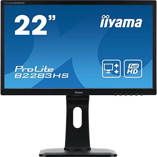 Iiyama Prolite B2283HS-B1 21.5-Inch Full HD LED Monitor - Black