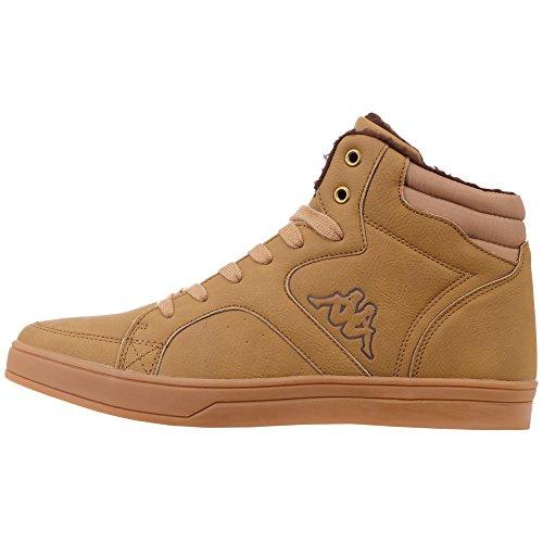 Kappa Nanook, Sneaker a Collo Alto Uomo, Nero (Black/Grey 1116), 42 EU