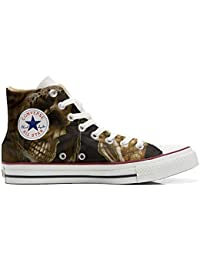 Converse All STar CUSTOMIZED , Sneaker Unisex, printed Italian style death Horror
