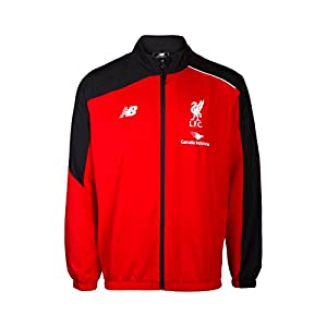 2015-2016 Liverpool Presentation Jacket (Red) - Kids from New Balance